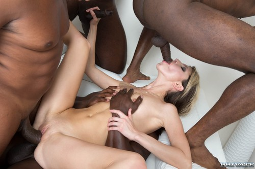 Private - Gina Gerson In Hardcore Interracial Gangbang (1080p)