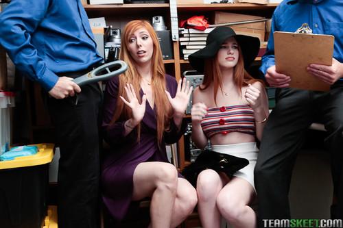 Shoplyfter: Lauren Phillips, Scarlett Snow - Case No. 8452728 (1080p)