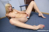 Dolly D - Lovely Blonde Girl Inserts Vibrator In Her Ass 09-24 36r6wcet30.jpg