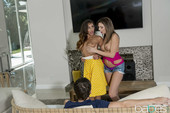 Christiana Cinn, Tiffany Watson - Birthday Surprise 09-25