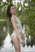 Nelya - Super Skinny Girl Getting Naked Outdoors 10-13 b6rq9wtzqv.jpg