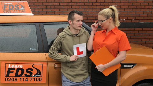 Fake Driving School: Georgie Lyall - Exam Failure Leads To Hot Car Sex (1080p)