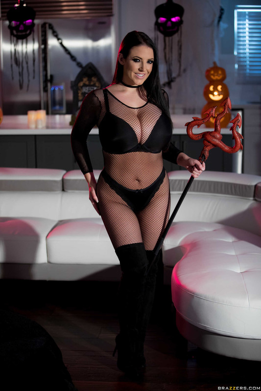 Angela white bodystocking boobs brazzers