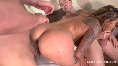 LegalPorno 2018 Heidi Van Horny Rides Two Hard Dicks and Gets Double Penetrated 720p XXX MP4-CLiP