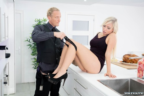 Private: Gabi Gold - Thanksgiving Day Fuck With Father In-law (1080p)