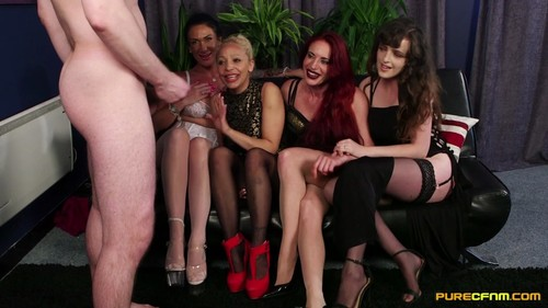 PureCFNM 18 12 07 Diverse Stacey Ella Bella Katie Olsen And Romana Ryder Our Old Routine XXX 1080p MP4-KTR