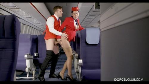 DorcelClub 18 12 10 Mariska The Stewardess XXX 1080p MP4-KTR