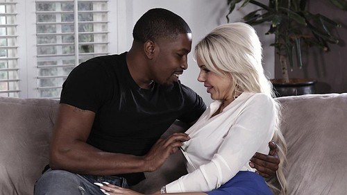 ZTOD: Nina Elle - Horny Black Cock Rider On Couch (1080p)