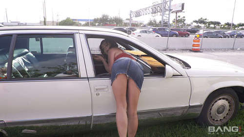 Bang! (Roadside XXX) - Samantha Gets Her Car Repaired In Exchange For A Mechanic Suck And Fuck (1080p)