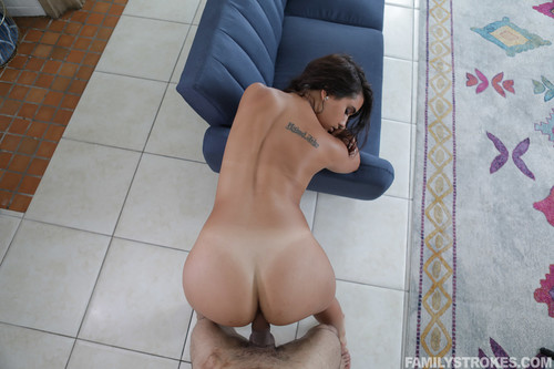Family Strokes: Penelope White - Panty Pics And Hard Dick (1080p)