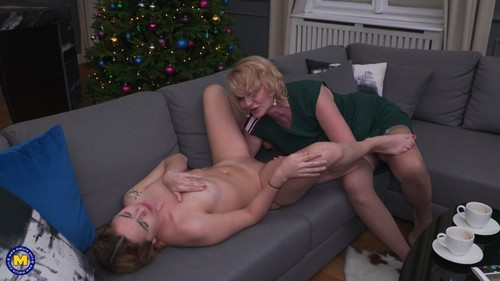 MatureNL 19 01 11 Karry Slot And Rina M Lesbian XXX 1080p MP4-KTR
