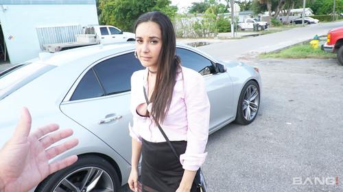 Bang! (Roadside XXX) - Alexandra's Mechanic Fucks The Attitude Right Out Of Her (1080p)