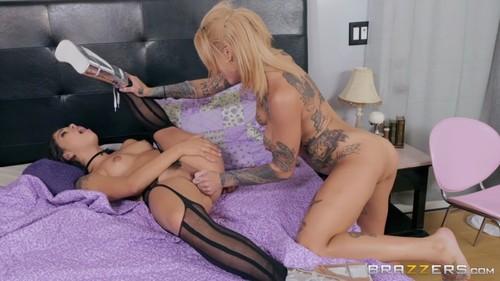 HotAndMean 19 02 03 Bonnie Rotten And Gina Valentina Scared Un-Straight XXX 1080p MP4-KTR