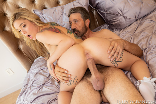 Jules Jordan - Kali Roses' Step-Father Disciplines Her With His Cock (1080p)