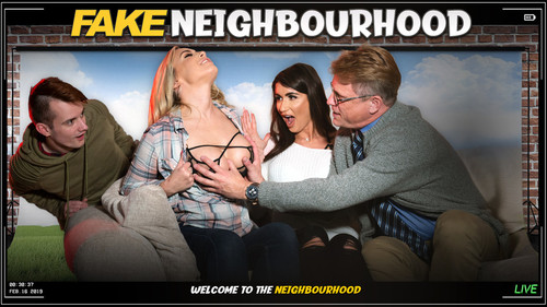 FakeHub Originals: Princess Jasmine, Karlie Simon - Fake Neighborhood: Welcome To The (Fake) Neighboorhood (1080p)
