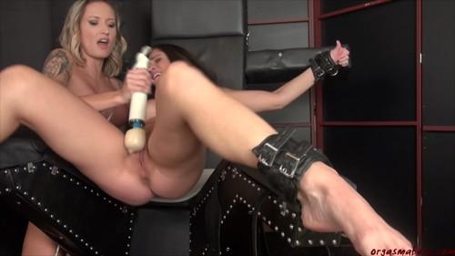 OrgasmAbuse 18 09 28 Regan Lush And Cleo Squirt For Me XXX 1080p MP4-KTR