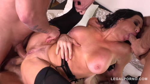 LegalPorno 2019 Veronica Avluv Luxury Sex Addict Gets A Double Anal Gangbang For Dinner 720p XXX MP4-CLiP